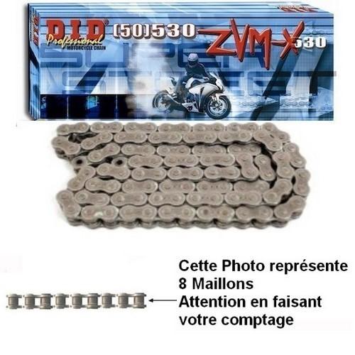 Chaine MOTO//Quad  Pas de 420 Renforcée 98 maillons